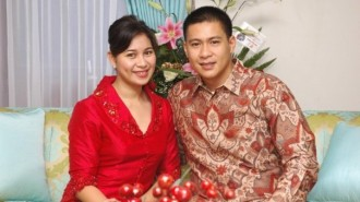 Wakil Walikota Manado bersama istri