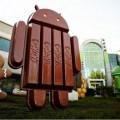 Patung Android Kit Kat di depan kantor Google di Mountain View, California, AS (sumber: Google)
