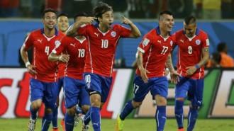 Chile Merayakan Kemenangan
