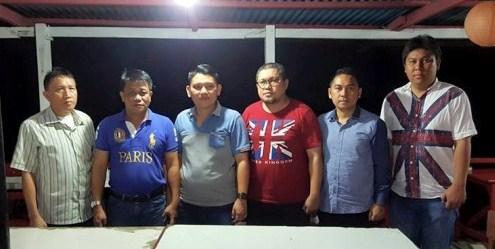 Amas Mahmud Dampingi Kawatu di KNPI Manado