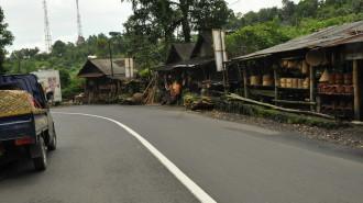 Kinilow kecamatan Tomohon Utara merupakan pintu masuk ke Kota Tomohon.