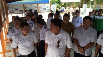 Menhub Ignatius Jonan Bersama Gubernur Sulut