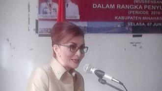 Bupati Minsel Tetty Paruntu pimpin Musrembang Penyusunan RPJMD