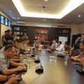 Pertemuan Civitas GMKI bersama Kapolda W Marpaung di Mapolda Sulut