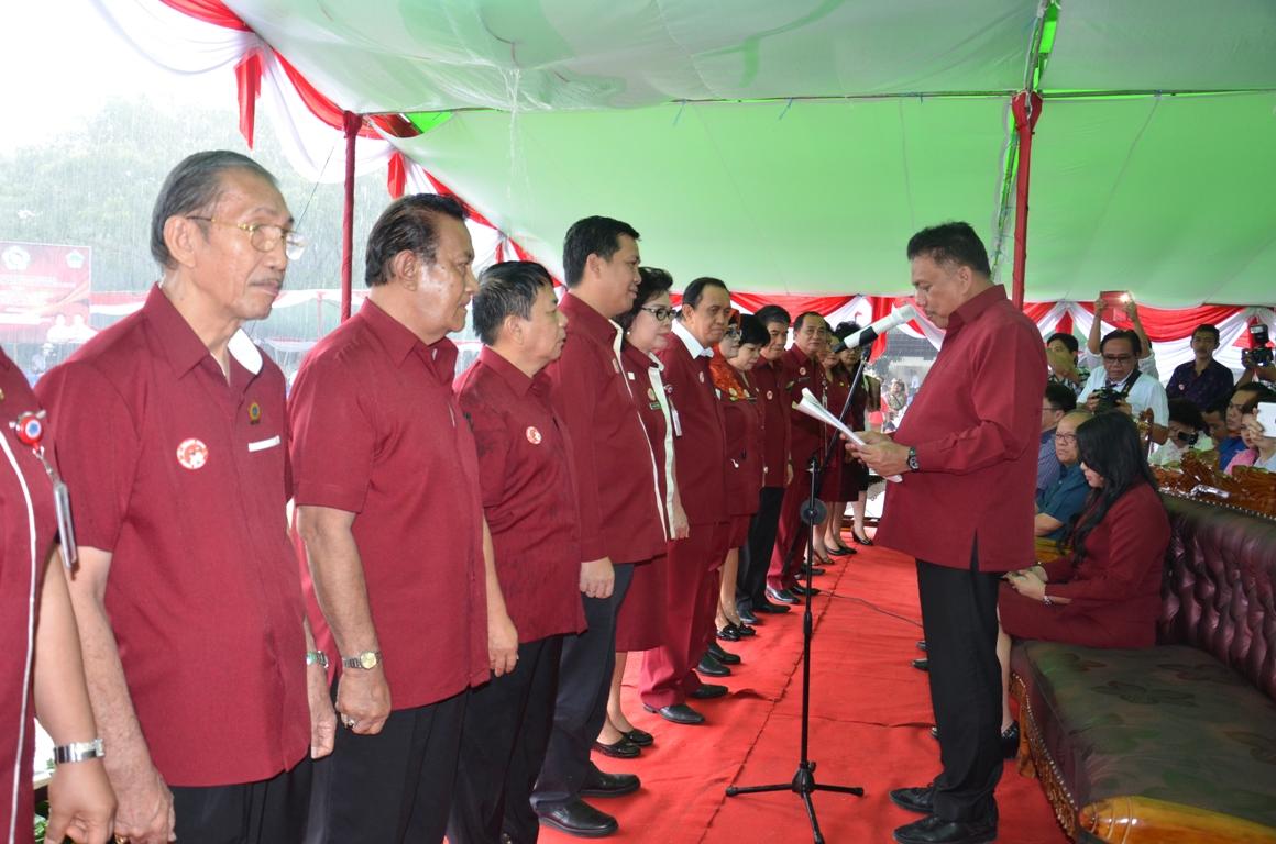Kandouw Pimpin Lansia Sulut