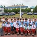 Lomban Lepas PMR Bitung ke Jumbara Nasional