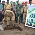 Lomban Letakan Batu Pertama Pembangunan Masjid Ulil Amri