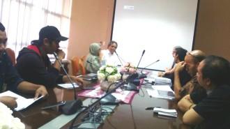 Kunjungan LPDS dan 10 wartawan peserta MDK IV (Travel Fellowship) di Kantor BRG
