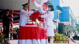 Hikmah, Detik Detik Proklamasi RI ke 71 di Kota Bitung