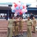 Lepas Balon,  Walikota Canangkan Peringatan Hut RI ke 71 Kota Bitung