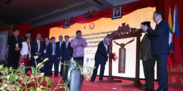 Menteri Basoeki Hadimoeljono Buka Pertemuan ke-4 ASEAN Ministerial Meeting on Disaster Management