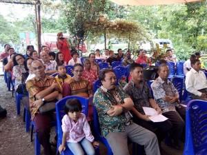 Warga Kawanua ikut menunjang pembangunan di kota Manokwari