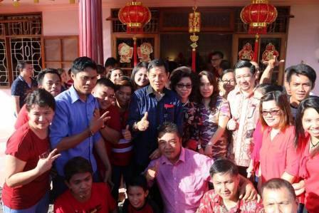 Perayaan Imlek di Manado