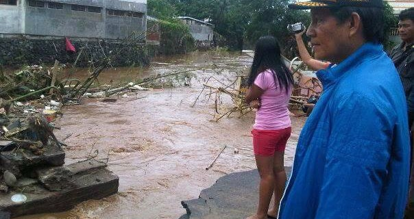 Potensi Banjir di Manado