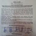 Pleno Rekapitulasi KPU, 'Megahagho' Menang