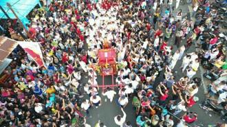 Cap Go Me di China Town Manado