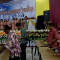 Lantunan Musik Kolintang Warnai Acara Kunci Tahun Kawanua Manokwari