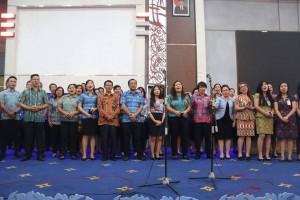 Ibadah rutin pemkot Manado