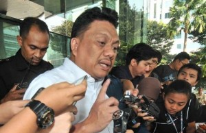 Gubernur Sulawesi Utara Olly Dondokambey diperiksa penyidik Komisi Pemberantasan Korupsi (KPK),