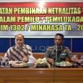 Netralitas TNI di Pilkada Minahasa