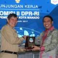 Saat Kunker,Komisi II DPR-RI Terkesan Dengan Manado