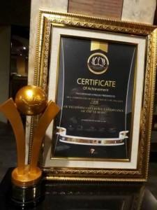 Penghargaan untuk Pemkot Manado