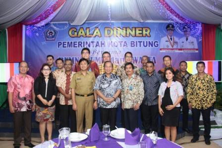Lomban Gala Dinner Bersama Perusahan Kota Bitung