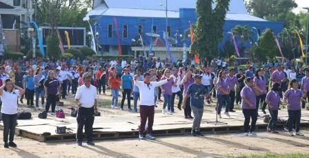 Launching Hari Berolahraga Pemkot Manado