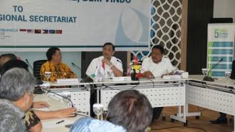 Menteri Luhut Kunjungi Sekretariat Regional CTI-EFF