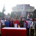 Deklarasi Solidaritas NKRI di Lapangan Tikala