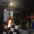 Sekda Usulu Lepas Pawai Obor Jelang Ramadhan di Lapangan Tikala