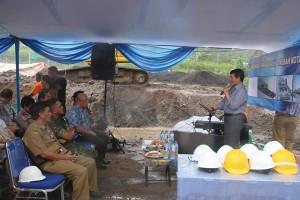 Peletakan Batu Pertama Pembangunan RSUD Manado 1
