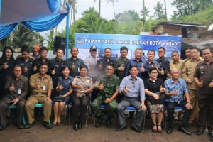 Peletakan Batu Pertama Pembangunan RSUD Manado 2