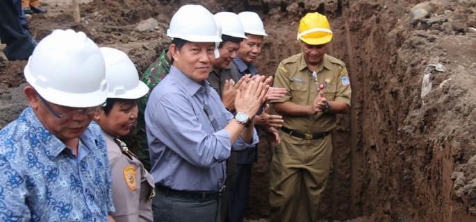 Peletakan Batu Pertama Pembangunan RSUD Manado