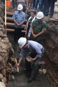 Peletakan Batu Pertama Pembangunan RSUD Manado 5