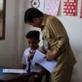 Walikota GSVL Buka Soal Ujian Akhir  SMP