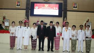 Gubernur Olly Lantik Bupati-Wakil Bupati Bolmong-Sangihe