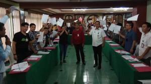 Pembentukan IWO Sulut ditandai dengan penandatanganan formulir anggota