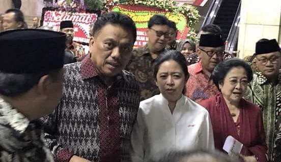 Megawati-Olly Dondokambey Hadiri Peringatan Haul Bung Karno