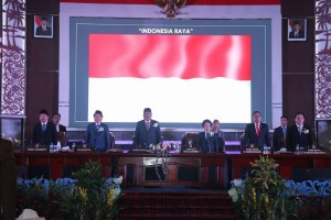 Rapat Paripurna Istimewa Dewan Perwakilan Rakyat Daerah (DPRD) Kota Manado