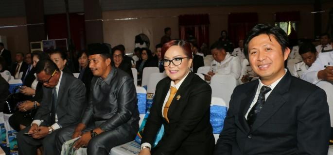 Wawali SAS Hadiri Ultah Kota Manado