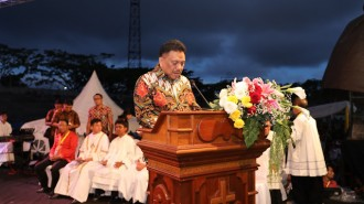 Olly Dondokambey : Sulut Barometer Kerukunan Antar Umat Beragama di Indonesia