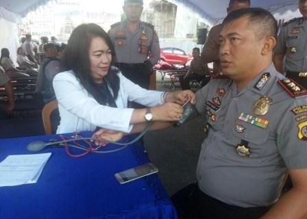 Polres Tomohon Gelar Setetes Darahku Untukmu Indonesiaku