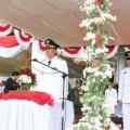 Walikota JFE Irup Puncak Peringatan HUT RI ke-72