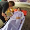 Wawali SAS Ikut Donor Darah Gelaran Polres Tomohon