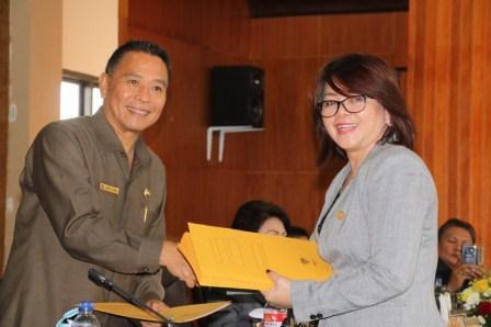 Disetujui Fraksi DPRD, Perubahan RPJMD Tomohon Diwarnai Rekomendasi