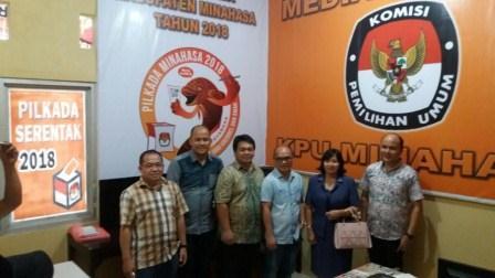Media Centre KPU Minahasa Diresmikan