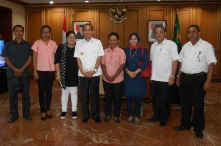 Pengurus Daerah IDRI Maluku Audensi dgn Gubernur Maluku