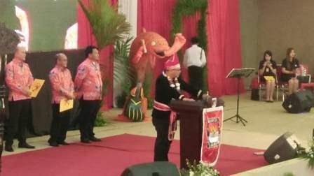 Tahapan Pilkada Minahasa, Resmi Dilaunching Ketua KPU RI
