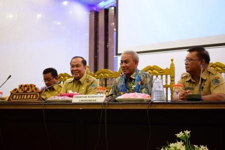 Walikota Buka Sosialisasi Statistik Kota Bitung